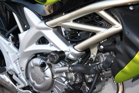 Suzuki SFV 650 Gladius 09-15 Kühlerschutz Kühlergitter Kühlerverkleidung ZIEGER